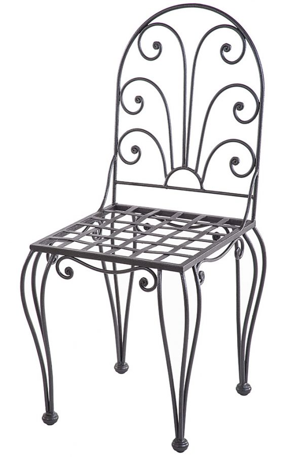 Wrought Iron Chair - sedia in ferro battuto