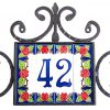 wrought iron tiles rack cornici portalettere in ferro battuto