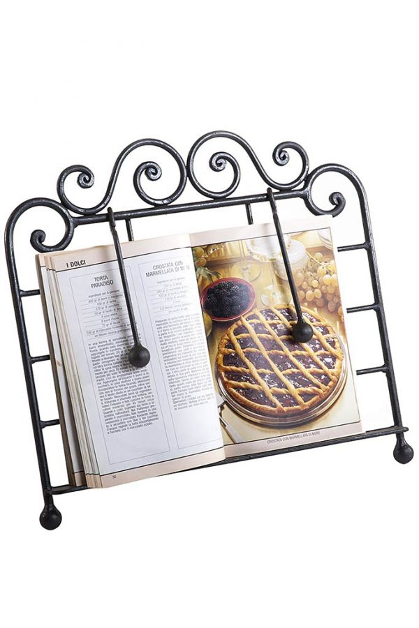 Wrought Iron Book Stand - Legio in Ferro Battuto