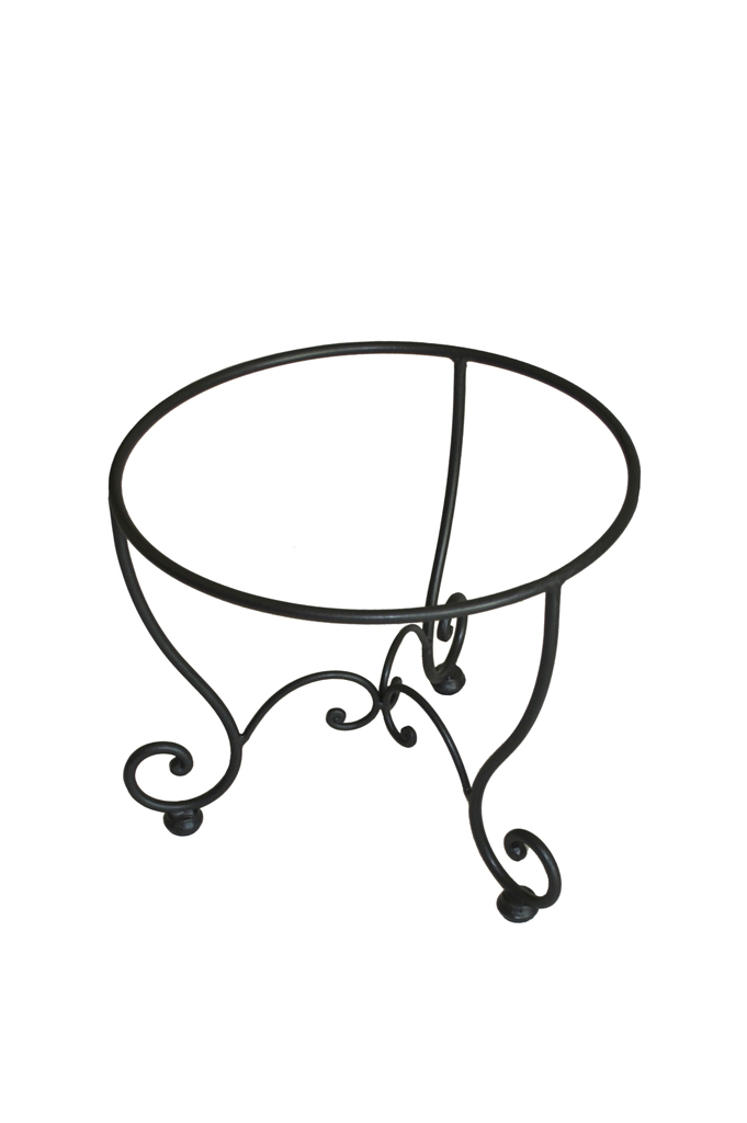 Wrought Iron Demijohn Stand Made In Italy