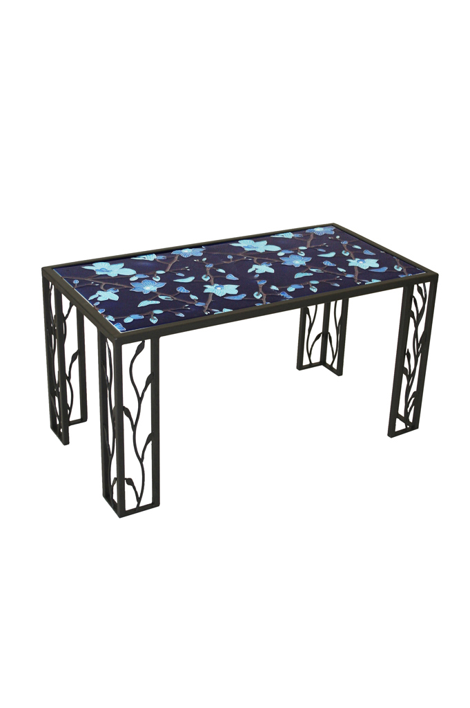 Small Rectangular Table With Ceramic Top - Tavolo Piccolo Rettangolare con  Top in Ceramica