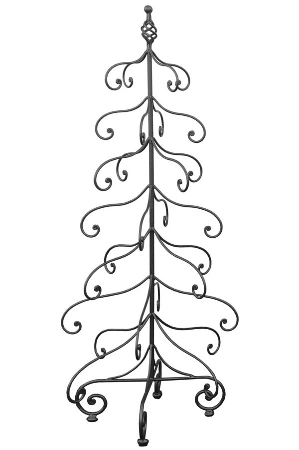 Wrought Iron Christmas Tree Albero Di Natale In Ferro Battuto