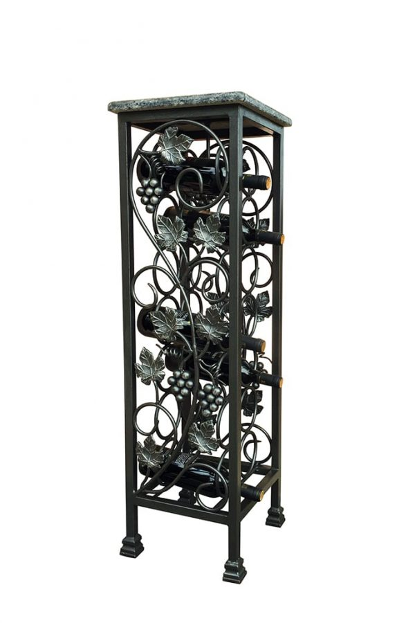 Wrought Iron Wine Rack - Bar Portabottiglie In Ferro Battuto